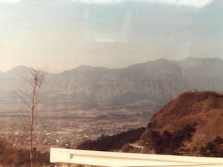 図7 大観望からの阿蘇五岳の俯瞰
