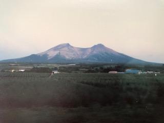 図8 車窓からの駒ヶ岳