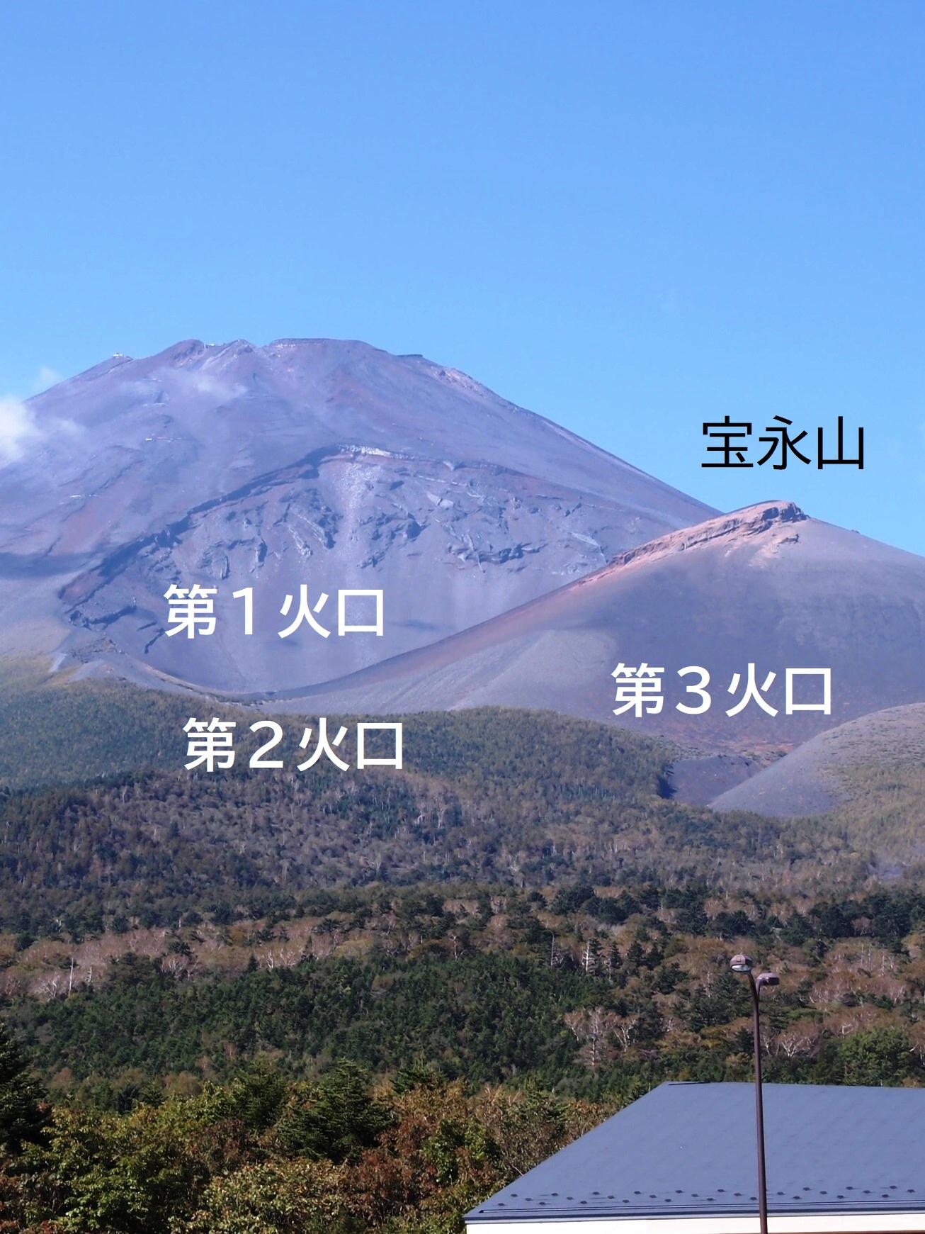 (5)宝永火口1