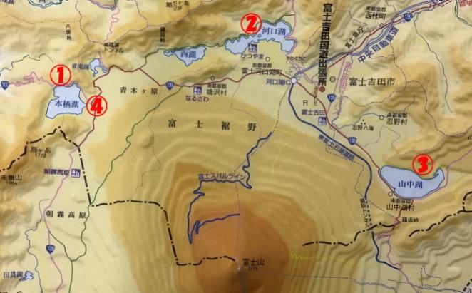 図1 礫サンプル採取地点